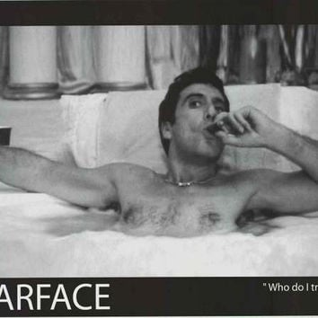 Scarface Who Do I Trust Movie Poster 24x36