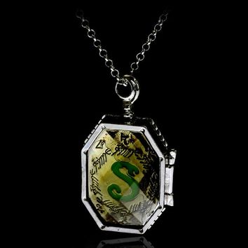 HP    Horcrux Necklace Figure Toys Dark Lord the Deathly Halllows Magic Birthday Christmas Harri Potter  Adults Kids