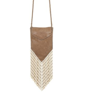 Coachella Crossbody Bag Beige
