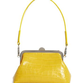 Marques'Almeida Croc Embossed Leather Handbag | Nordstrom