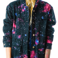 Evil Twin Beam Me Up Anorak Galaxy