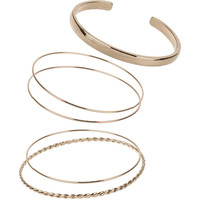 Miss Selfridge Bangle Pack