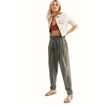Women's Free People Margate Pleated Pant
