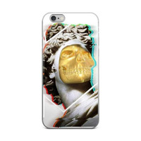 Gold Angel iPhone Case