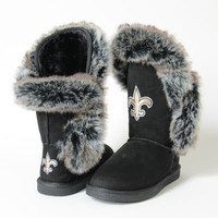 "New Orleans Saints Women's Cuce Official NFL ""Champions"" Boots"
