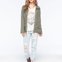 ASHLEY Linen Womens Anorak Jacket | Outdoor Wanderlust