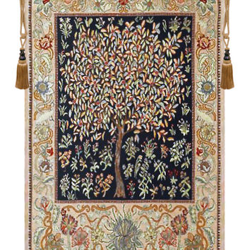 Pastel Tree of Life Tapestry Wall Art Hanging