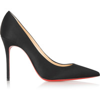 Christian Louboutin - Décolleté 100 satin pumps