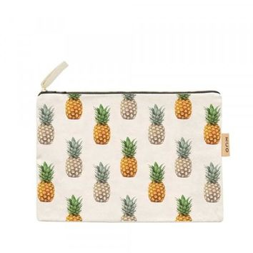 Pineapple Canvas Eco Pouch