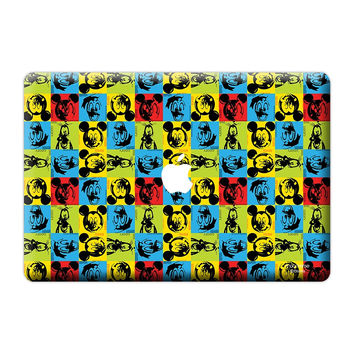 "Disney Dearies - Skin for Macbook 13"" White"