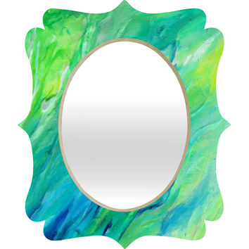 Rosie Brown The Sea Quatrefoil Mirror