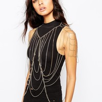 Love Rocks Drape Body Chain