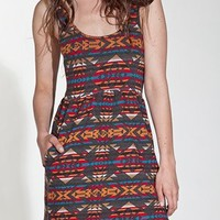 OBEY CLOTHING NAVAJO DRESS - WOMENS DRESSES BY OBEY CLOTHING