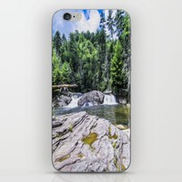 Lower Fall View iPhone & iPod Skin by Gwendalyn Abrams