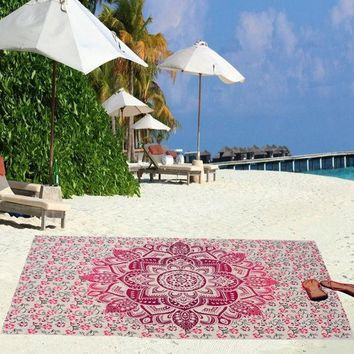 Beach Towel Yoga Mat Blanket Table Cloth Bohemia Indian Tapestry Bedspread Wall Hanging Bohemian Ethnic Decor