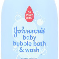 Johnson's Baby Bubble Bath and Wash, 15 Ounce