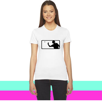 Major League Beer Pong_ women T-shirt