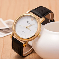 Mens Womens Adventurer Sports Leather Strap Watch Classic Watches +  Beautiful Gift Box