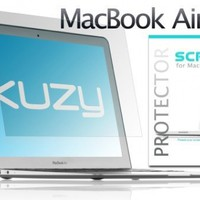"Kuzy - AIR 13-inch Screen Protector Clear Film for Apple MacBook Air 13.3"" (Model A1466 & A1369) - Clear"