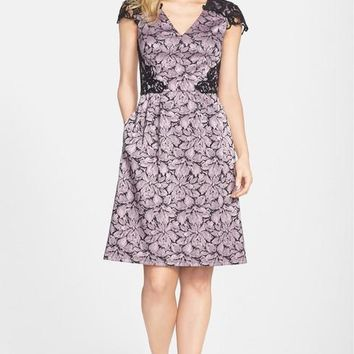 Adrianna Papell Short Mother of the Bride Formal Dress