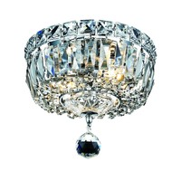 Crystal Ceiling Light - 8-Inches Wide at Destination Lighting