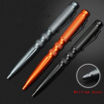 Maxde New Self Defense Personal Safety Protective Stinger Weapons Wolfram Steel Tactical Pen Pencil With Writing Function