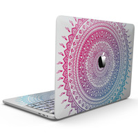 Ethnic Indian Tie-Dye Circle - MacBook Pro with Touch Bar Skin Kit