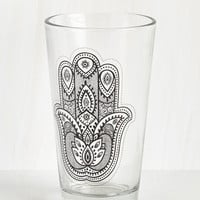 Boho In Pour a Treat Glass by ModCloth