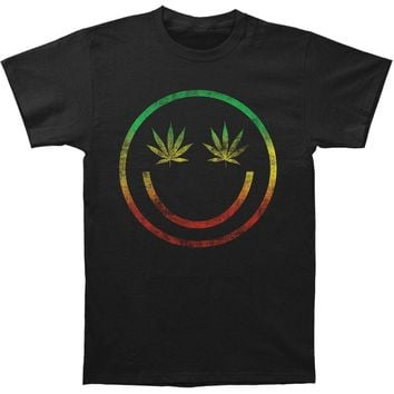 Novelty Men's  Rasta Fade Slim Fit T-shirt Black