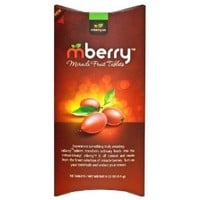 mberry Miracle Berry Fruit Tablets 7 packs