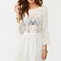 Valentina Crochet Dress in What's New at Nasty Gal