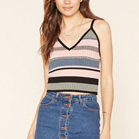 Contemporary Striped Cami | Forever 21 - 2000205700