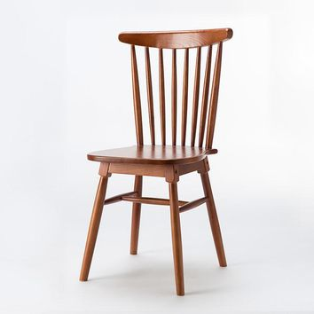 Dining Chair Solid Wood Dining Room Furniture Quality Wooden Dining Room Chairs  Wood Windsor Chair