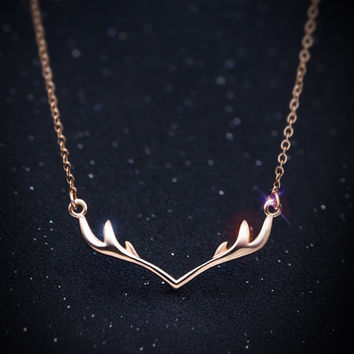 Gift Jewelry New Arrival Stylish Shiny Korean Simple Design 925 Silver Lovely Accessory Necklace [11652446799]