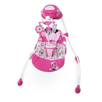 Disney Baby Minnie Mouse Mouse Garden Delights Swing - Walmart.com