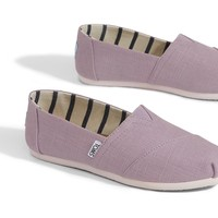 SOFT LILAC HERITAGE CANVAS WOMEN'S CLASSICS