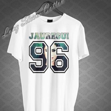Lauren Jauregui 96 Shirt Fifth Harmony T-shirt Tee Black and White Top Men or Women