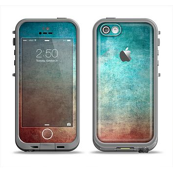 The Faded Grunge Color Surface Extract Apple iPhone 5c LifeProof Fre Case Skin Set