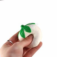 Strawberry Shape Squishy Slow Rising Cream Scented Kids Toys