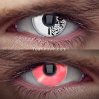 Costume Contact Lenses | Terminator Cyborg Contact Lenses (Pair)