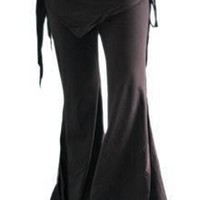 Black Tribal Fusion Bellydance Pants from Bellydance.com
