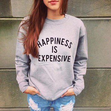 Womens Casual Gray Sweater