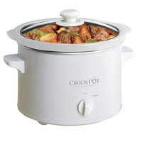 New Crock-Pot 5025-WG-NP Manual Slow Cooker, White