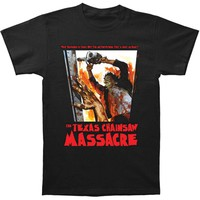 Texas Chainsaw Massacre Men's  What Happened Is True! T-shirt Black