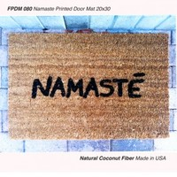 Namaste Printed In-Door Mat (20 inches x 30 inches)