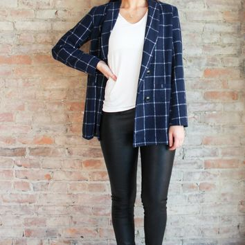Madelyn Blazer Jacket - navy