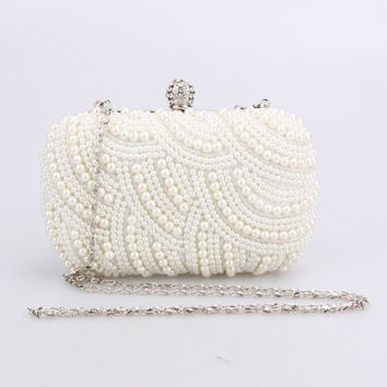 Crystal Evening Bag Clutch Bags Clutches Lady Wedding Purse Rhinestones Wedding Handbags Silver/Gold/Black Evening Bag
