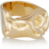 Jennifer Fisher - Bow gold-plated ring