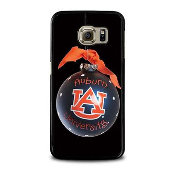 auburn university war eagle samsung galaxy s6 case cover  number 1