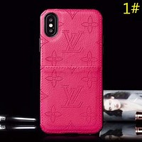 Louis Vuitton LV Fashion New Monogram Check Couple Personality Phone Case Protective Cover